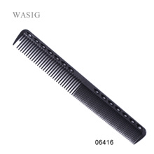 1 Pc Professional Hair Cricket Comb Heat Resistant Medium Cutting Carbon Comb Salon Antistatic Barber Styling Brush Tool