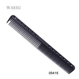 Image 1 - 1 Pc מקצועי שיער קריקט מסרק חום עמיד בינוני חיתוך פחמן מסרק בתמיסת מספרה ברבר סטיילינג מברשת כלי