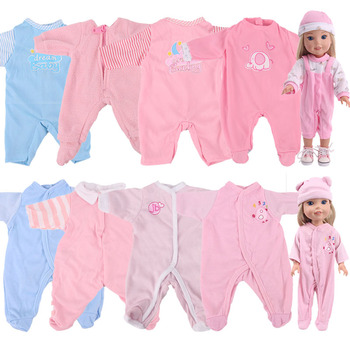 Doll Clothes Pajamas For 14.5 inch Wellie Wishers Camille Ashlyn Kendall Emerson 38-40Cm Nancy American Doll Generation Toy DIY image