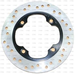 Rear 220 mm Disc Brake Rotor for HONDA Atv TRX 400 Fourtrax EX TRX400 1999 - 2008 2007 2006 2005 2004 2003 2002 2001 2000 99 08(China)