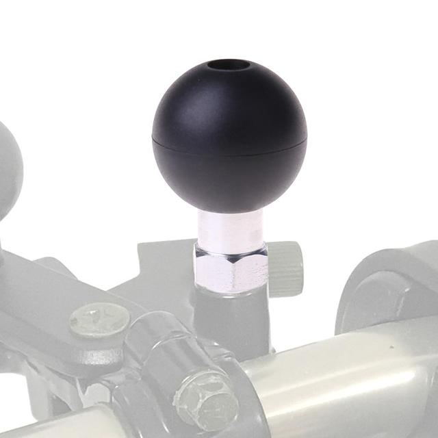 1Inch Ball Base M10 X 1.25 Male Thread Mount
