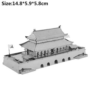 Architecture 3D Metal Puzzles World  11