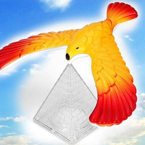 Nature Gravity Pyramid Balance Bird Eagle Toy Kid Educational Toy Magic Maintain Balance Plastic Toy Kids Children Gift