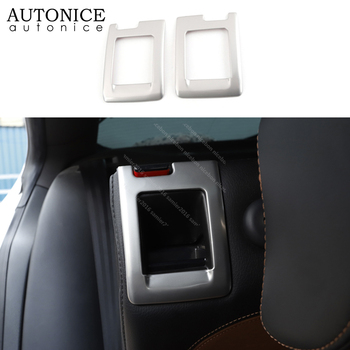Stainless Seat Adjust Button frame Trim Fit For Volkswagen CC 2009-2017 Passat Alltrack Variant 2009-2014 car stickers