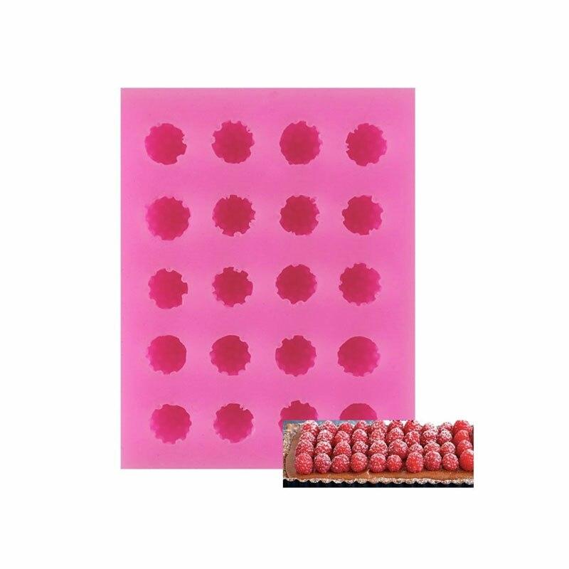 1 шт. маленькие силиконовые формы для торта с рисунком клубники, в наличии «сделай сам», инструменты для украшения шоколадного и сахарного т...