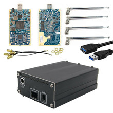 Kit LimeSDR, Software definido, Radio LimeSDR + caja de aluminio + antena