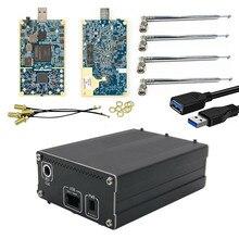 Kit de LimeSDR, Radio définie par logiciel, avec boîtier en aluminium + antennes