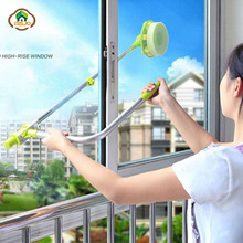 MSJO Mop For Windows Long Handle Sponge Telescopic Window Cleaning Brush Device Dust double Side Clean Glass wiper Washing Tools цена 2017