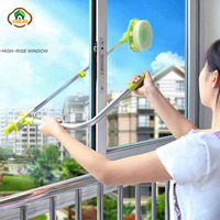 MSJO Mop For Windows Long Handle Sponge Telescopic Window Cleaning Brush Device Dust double Side Clean Glass wiper Washing Tools
