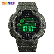 2020 SKMEI Wasserdichte Leuchtende Digitale Uhr Outdoor Military Cowboy Sport Männer Armbanduhr Relogio Masculino reloj hombre 1472