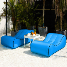 Bed Inflatable Sofa-Bed Air-Sofa-Chair Hiking-Pool Parties Beach Camping Garden Travel