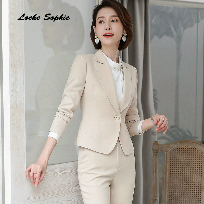 1pcs Womens Plus Size Blazers Coats 2019 Winter Cotton Button Splicing Small Suits Jackets Ladies Skinny Office Blazers Suits