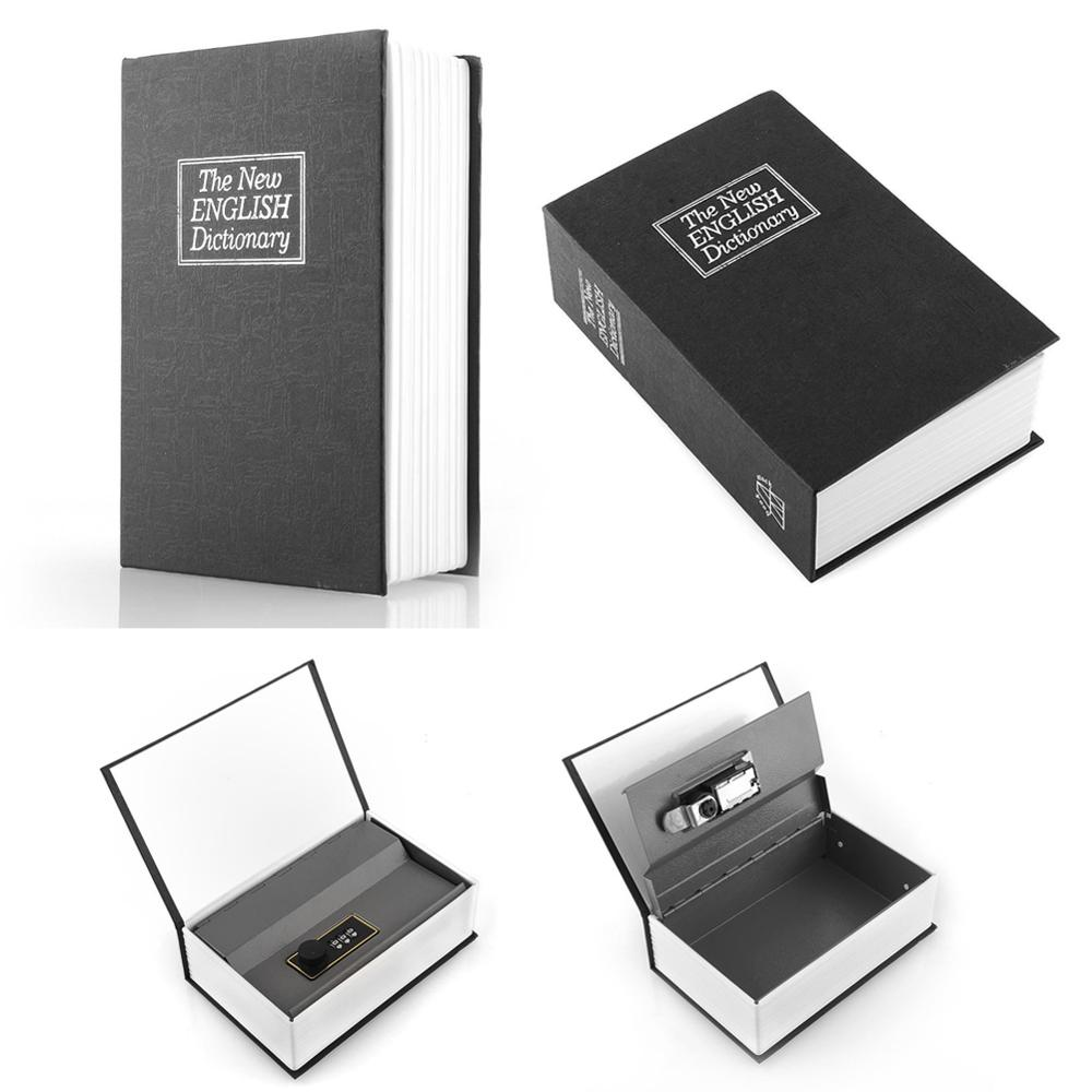 Black Dictionary Digital Lock Black Dictionary Secret Hidden Home Book Safe Box Popular Secret Book Money Security Coin Storage