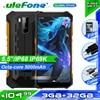 Ulefone Power X5 смартфон MT6762 Octa Core IP68 Водонепроницаемый Android 10 распознавания лиц и 3 Гб оперативной памяти, 32 Гб встроенной памяти OTG NFC 4 аппарат не привязан к оператору сотовой связи глобальная версия чехол для телефона