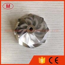 Gtx3071 gen ll 8 + 0 lâminas 54.06/71.40mm ponto trituração turbo boleto/moagem/alumínio 2618 roda compressor