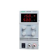 KPS1505D Adjustable High precision double LED display switch DC Power Supply protection function 15V5A 110V-230V Digital  panel