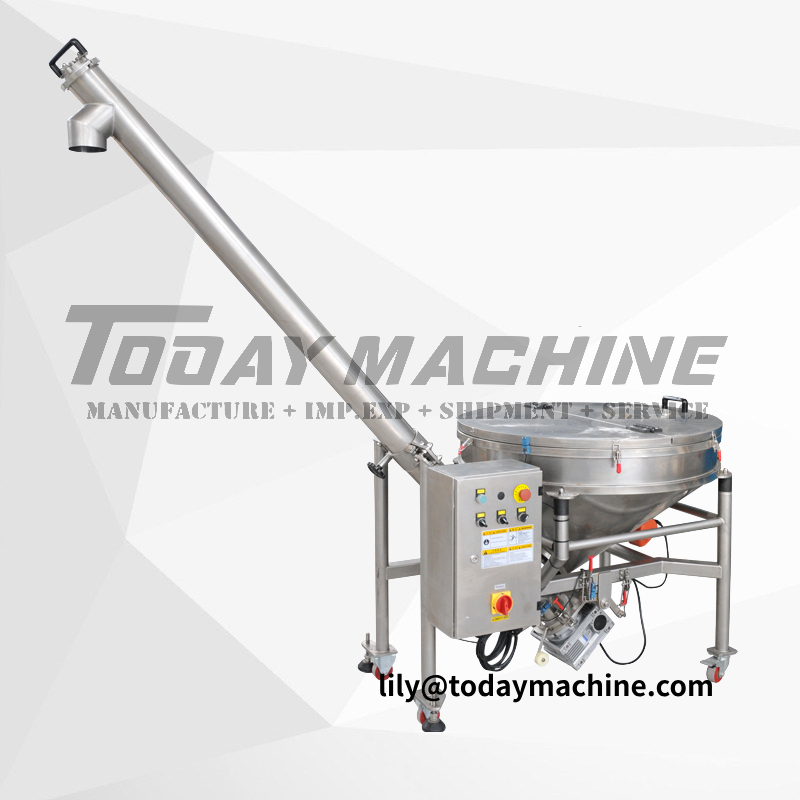 Professional Hopper Auger Feeder Screw Conveyor