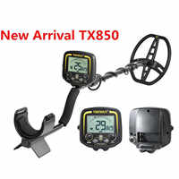 Professional Underground Metal Detector TX-850 Deep Search Gold Detector LCD Treasure Hunter Finder Scanner Searching Seeker