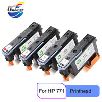 Para hp 771 cabeça de impressora ce017a ce018a ce019a ce020a para hp designjet z6200 z6600 z6800 4 cores