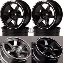 NEW ENRON 4P Aluminum Wheel Rims Hub For RC 1/10 On-Road Drift HPI HSP TRX-4 TRX4 T4 Tamiya CC01 D90 D110 MST TF2 Kyosho RedCat