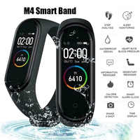 M4 Smart Band Waterproof Fitness Sport Smart Bracelet Fitness Tracker Heart Rate Blood Pressure M4 Band pulsera inteligente