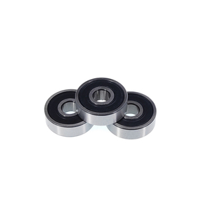 Image 1 - 50pcs 608 2RS 608RS 608 2RS RS rubber sealed deep groove ball bearing  8*22*7 mm skateboard 8x22x7