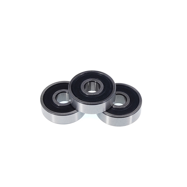 50pcs 608 2RS 608RS 608 2RS RS rubber sealed deep groove ball bearing  8*22*7 mm skateboard 8x22x7