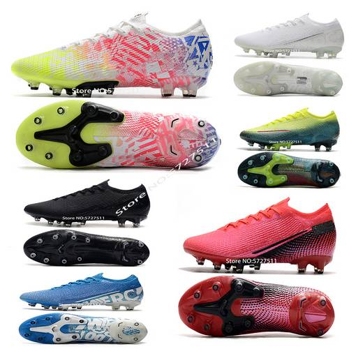 Free shipping Assassin 13th generation knitted surface <font><b>360</b></font> technology waterproof AG outdoor football <font><b>shoes</b></font> Boots soccer <font><b>shoe</b></font> image