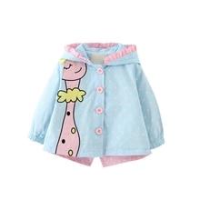 Jacket Baby Girls Coat Children Outerwear winter Hooded coat