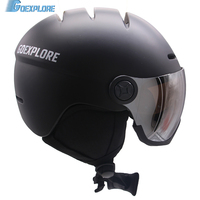 Goexplore Snowboard Helmet With Visor Adult Integrally Ultralight Outdoor Ski Snow Skateboard Safety Helmet Men Women