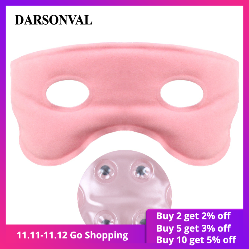 DARSONVAL Tourmaline Magnet Sleeping Eye Mask Eye Care Ice Cold Heat Compress Blue Gel Eyes Fatigue Relief Remove Dark Circle