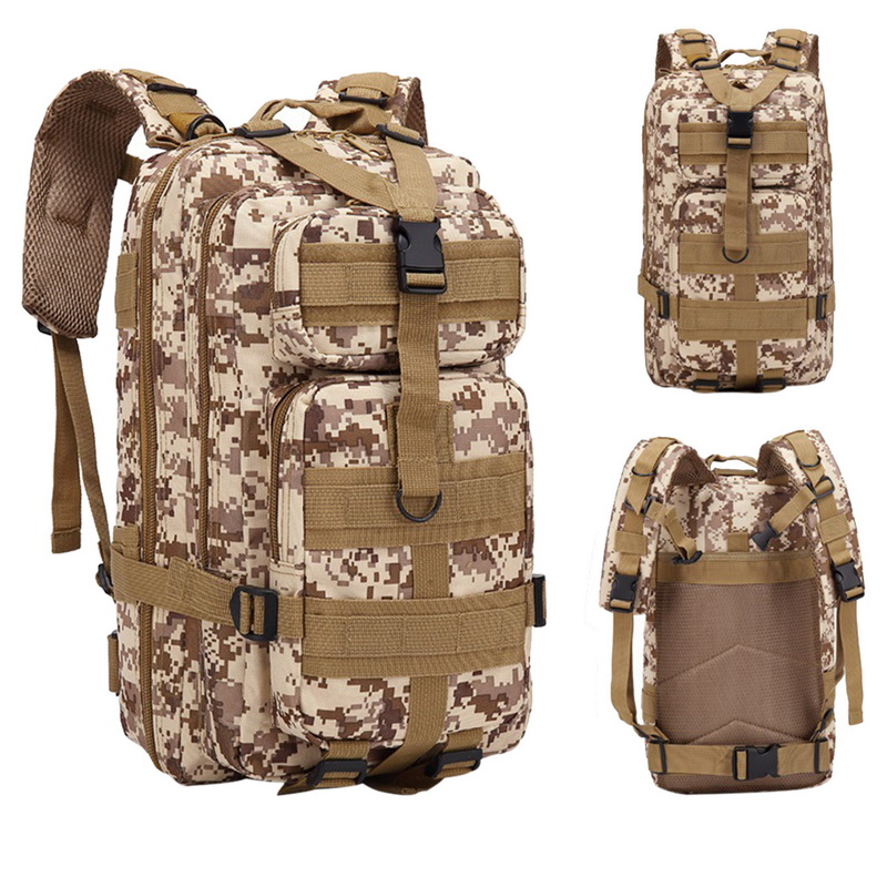 Nylon Tactical Backpack Military Backpack Waterproof Army Rucksack Outdoor Camping Hiking Fishing Large Capacity Bags