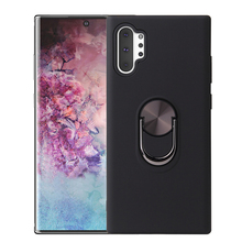 For Samsung Galaxy Note 10 Note 10+ hard cover PC+TPU phone ring case Protective Shell Shockproof Anti-knock Kickstand