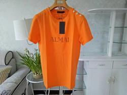Классический Модный летний Свободный пуловер с короткими рукавами; Футболка; Топ