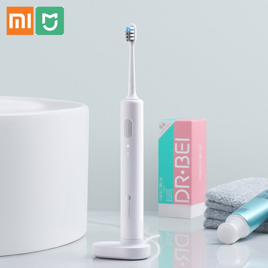 Xiaomi Doctor B DR.Bei Sonic Electric Toothbrush BET-C01 Rechargeable Waterproof Electrial Ultrasonic Whitening Teeth Toothbrush image