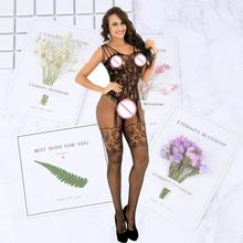 Lady Women Sexy Pantyhose Mesh Fishnet Nylon Tights Long Stocking Jacquard Stockings lingerie Hosiery