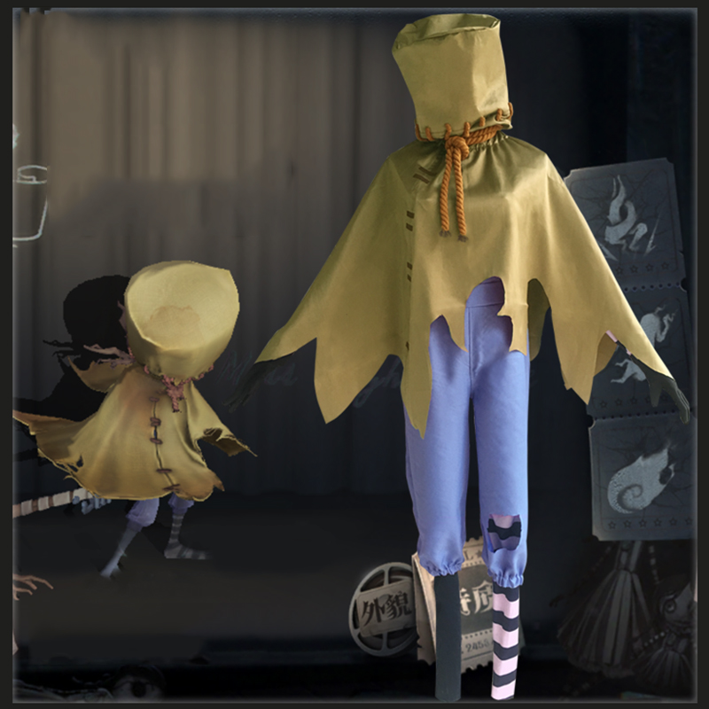 Game Identity V Cosplay Costumes Axe Boy Robbie White Cosplay Costume Original Skin Halloween Party Anime Cosplay Costume