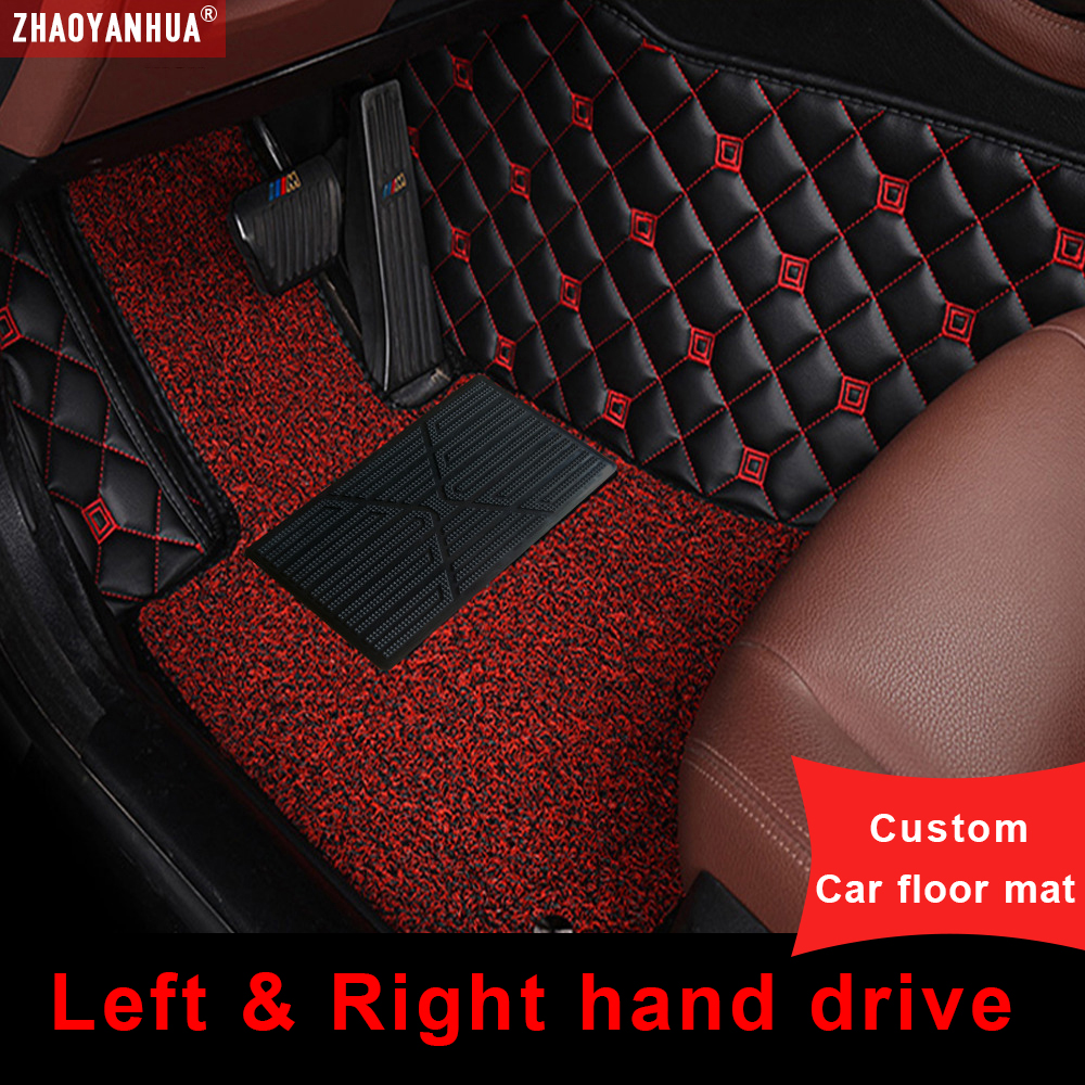 Car Floor Mat For peugeot 5008 307 508 308 3008 301 2008 207 sw Car Accessorie Floor Mat carpets image