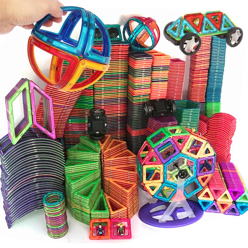 Designer 1pcs Magnetic DIY Building Blocks Toys Parts Construction  For Children Magnetic Toys Magnet Model Building Toys Squar
