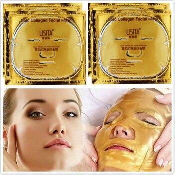 Skin Care Face Mask Crystal Gold Collagen Masks Brightening Moisturizing Makeup