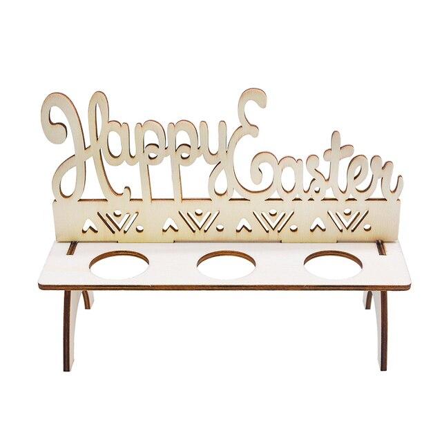 Support pour œufs en chocolat de pâques   1 ensemble, créatif présentoir pour œufs lapin, poulet, lapin et œufs, décoration joyeux pâques, cadeau artisanal pour la maison