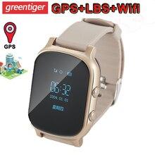 T58 Smart Horloge Gps Wifi Smart Tracker Antil Verloren Baby Fitness Tracker Sos Kinderen Smartwatch Student Kids Smartwatch.