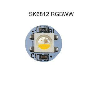 Image 4 - 10 500pcs 5050 SMD WS2812B RGB SK6812 RGBW LED 칩 미니 PCB 보드 (10mm * 3mm) 히트 싱크 블랙 화이트 PCB DC5V