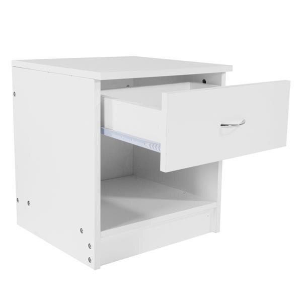 1pc tiroir en forme d'arc poignée table de nuit blanc élégant, beau travail beau, table de chevet chambre meubles