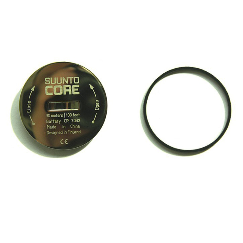 Watch Accessories For Suunto Core Battery Cover Battery Cover Stainless Steel Battery Bottom Cover