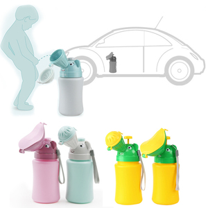 Portable Baby Hygiene Toilet Urinal Boys Girls Pot Outdoor Car Travel Anti-leakage Potty Kids Convenient Toilet Training Potty