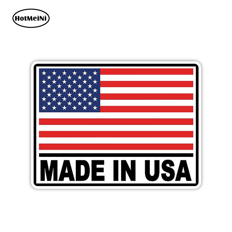 HotMeiNi 13cm X 9.9cm Made in USA Sticker Decal SUP Paddle Board Kayak Canoe Boat Car Truck Vinyl Stickers Car Styling