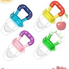 Baby Nipple Pacifiers-Feeder Fresh Fruit-Feeding Food Nibbler Kids Safe-Supplies