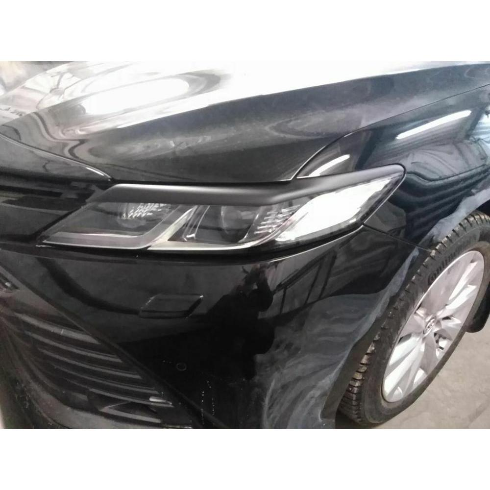 Eyebrows for Toyota Corolla Light Brows Eyelashes Headlights Covers