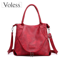 New Women PU Leather Handbags 2019 Female Casual Totes Ladies Shoulder Bag Design Zipper Women Bag Messenger Bags Bolsa Feminina все цены